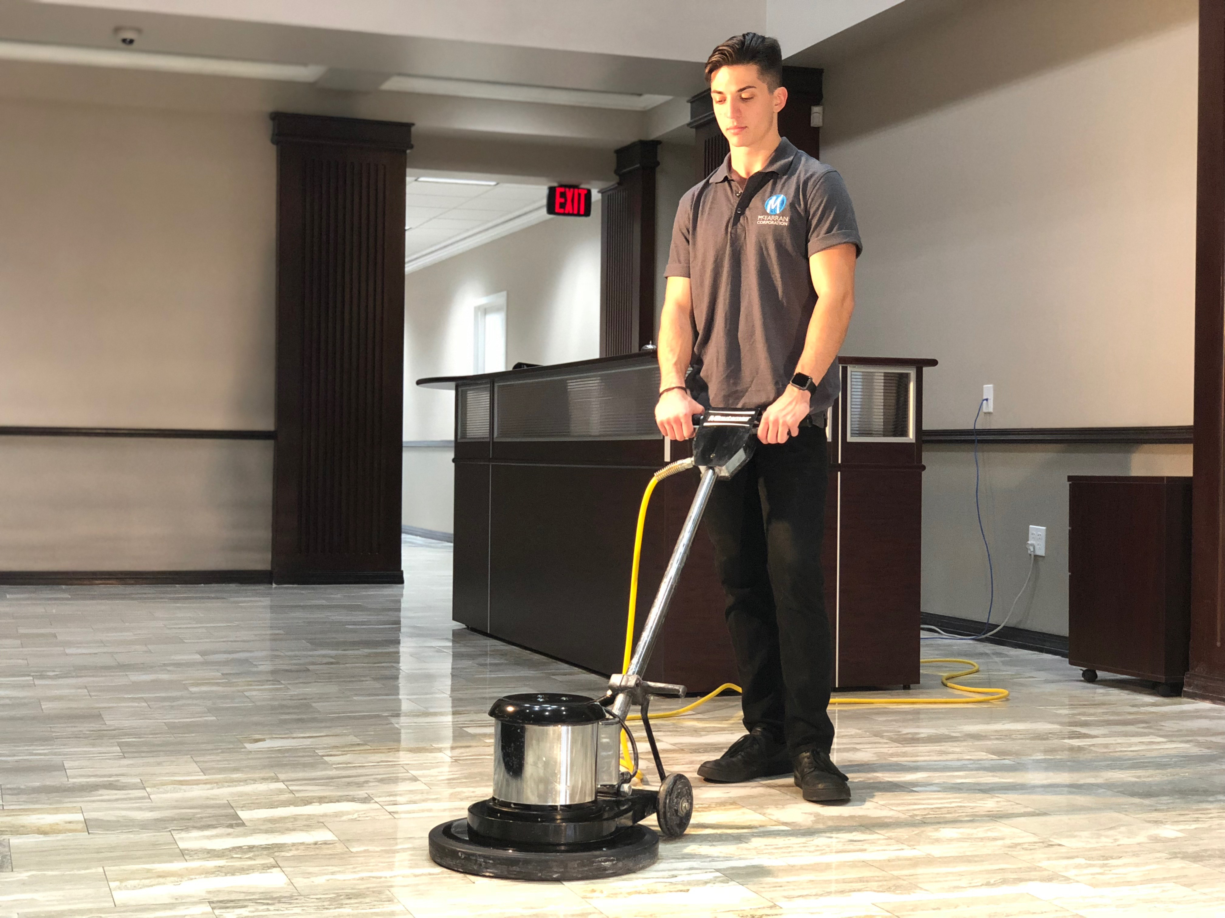 McFarran-commercial-floor-cleaning New Smyrna Beach