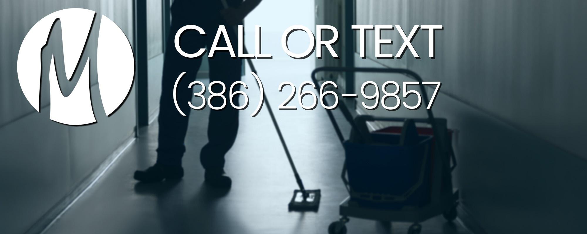 floor cleaning Daytona Beach company wax strip commercial